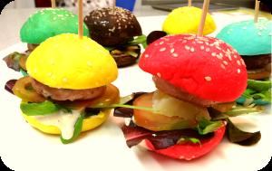 miniburgers colores